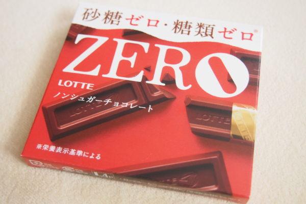 糖類ゼロチョコレート